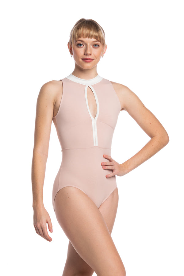 Livona Leotard with Mesh (1103ME)