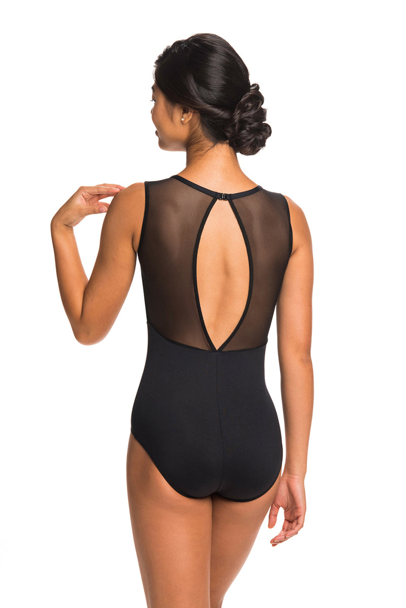 Coco Leotard with Kara Lace