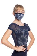Face Mask in Shibori Print (999SH)