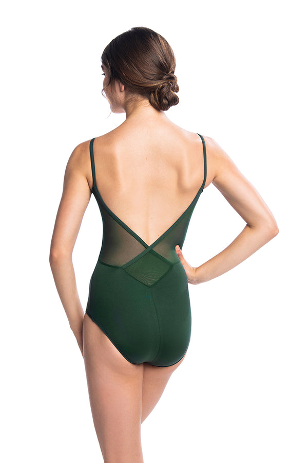 Allegra Leotard with Mesh (136ME)