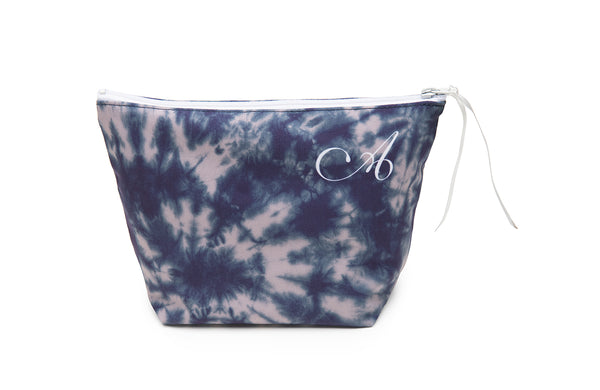 Makeup Bag in Shibori Print (901SH)