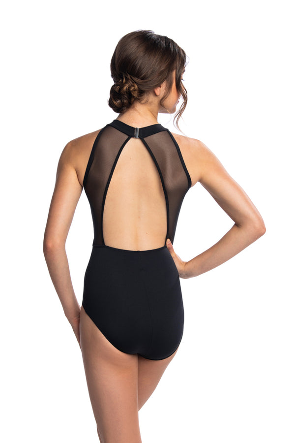 Zara Leotard with Mesh (1055ME)