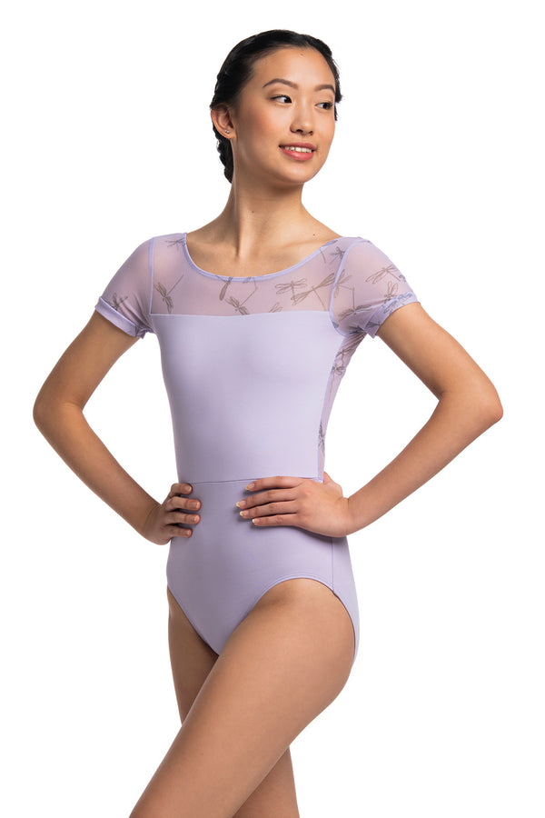 Bonnie Leotard with Dragonfly Print