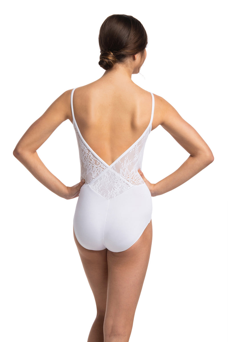 Allegra Leotard with Kara Lace