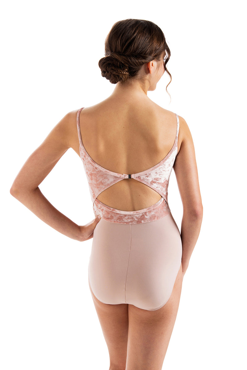 Liberty Leotard with Crushed Velvet