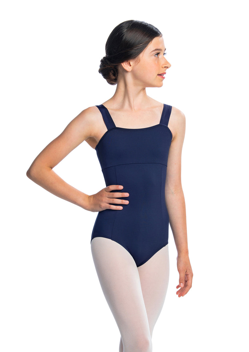 Girls Square Neck Leotard