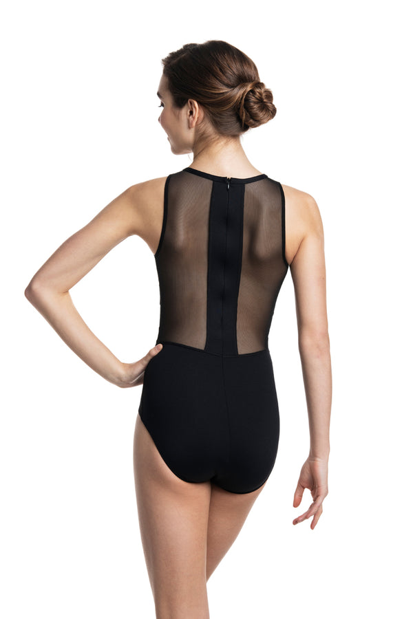 Naomi Leotard with Mesh (1058ME)