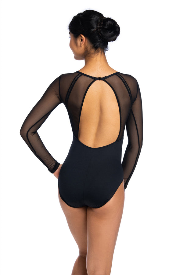 Marcella Leotard with Mesh
