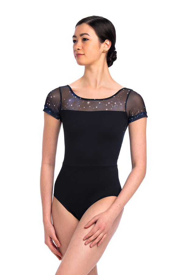 Bonnie Leotard with Night Sky Print