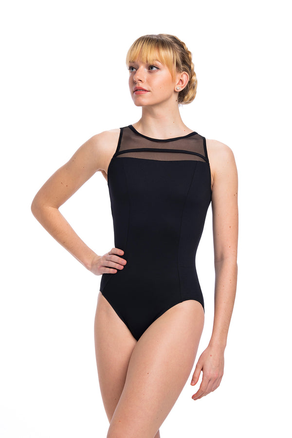 Paige Leotard with Mesh