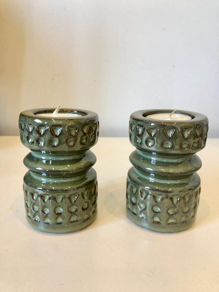 Stoneware Tealight Holder
