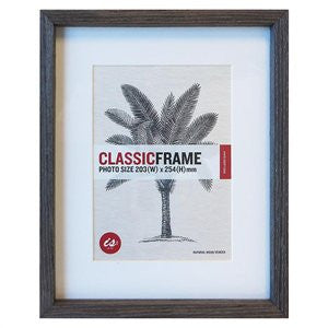 "Classic Frame - 8 x 10"" Grey - Moontree Candles and Homewares Leura - 2"
