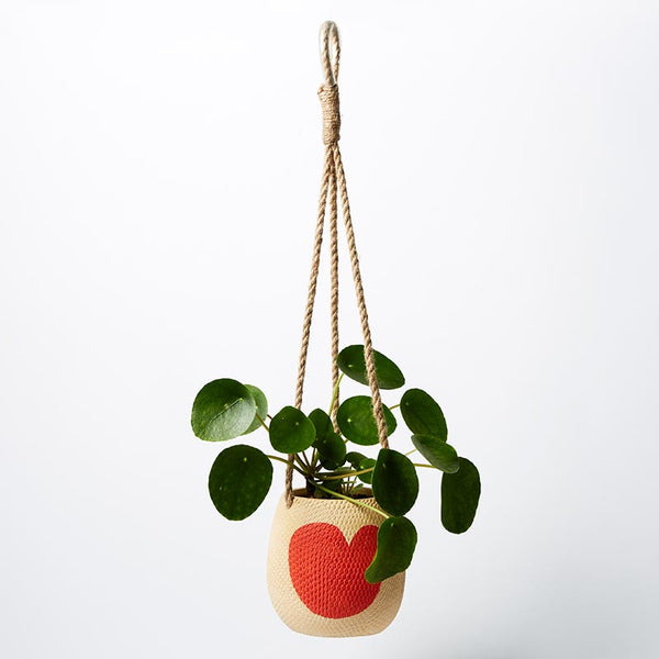 Hanging Heart Planter