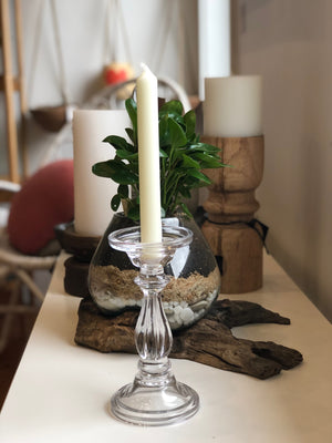 Sophia Glass Candle Holder