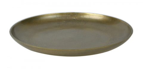 Antique Gold Deco Plate
