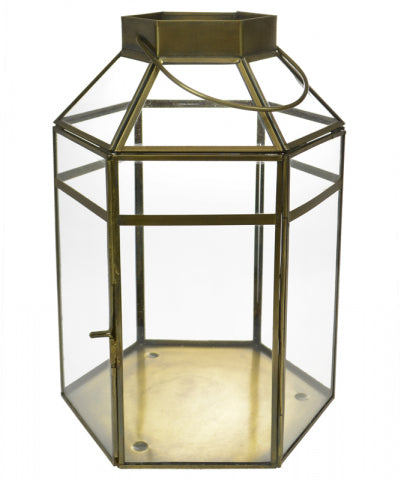 Antique Hexagonal Lantern