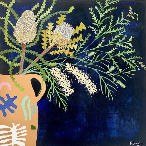 Matisse Vase with Natives