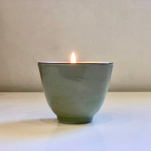 Green Tea - Teacup Candle