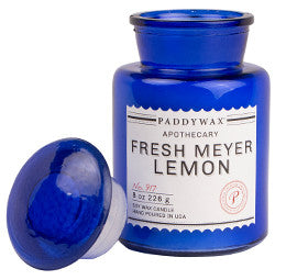 Blue Apothecary - Fresh Meyer Lemon - Moontree Candles and Homewares Leura - 1