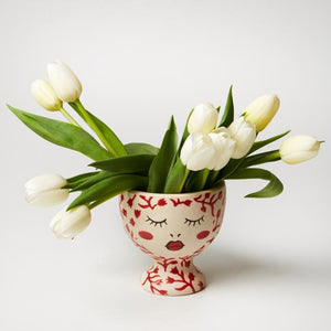 Alyssa Vase Red