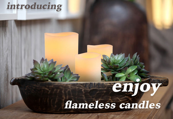 Enjoy Flameless Candles