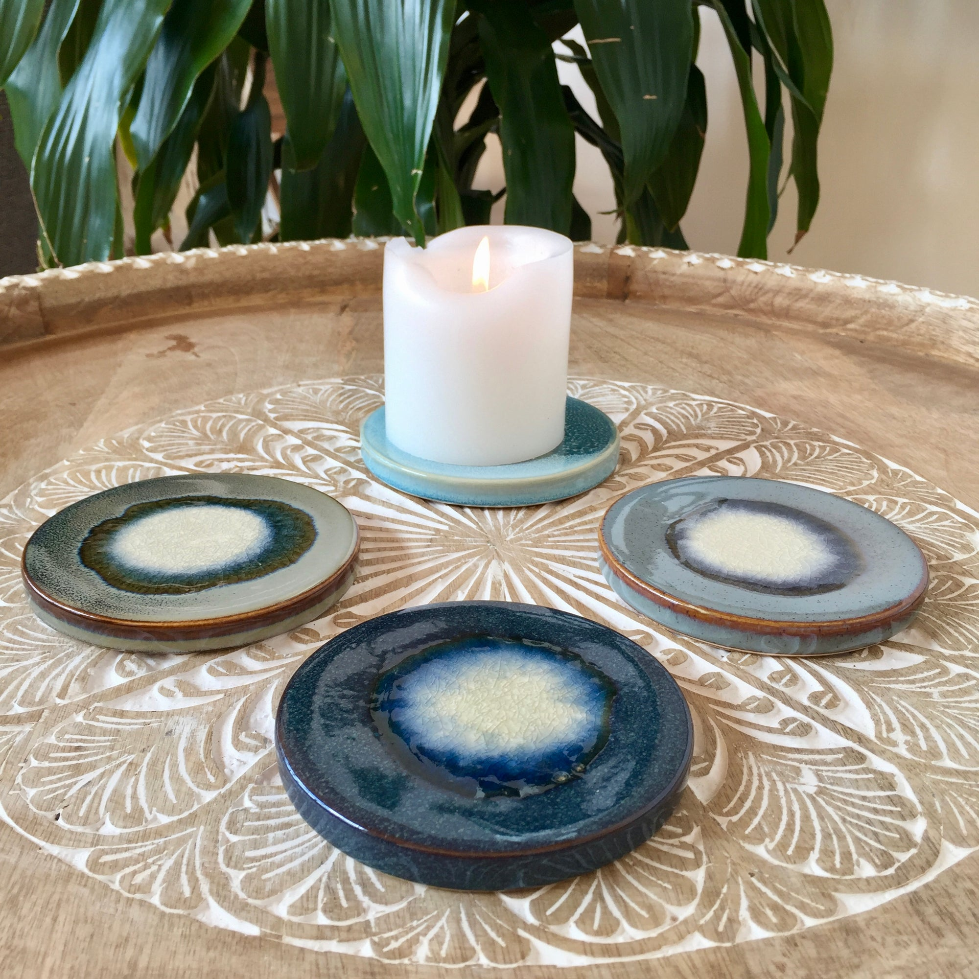 Asher Candle Plate/Coaster