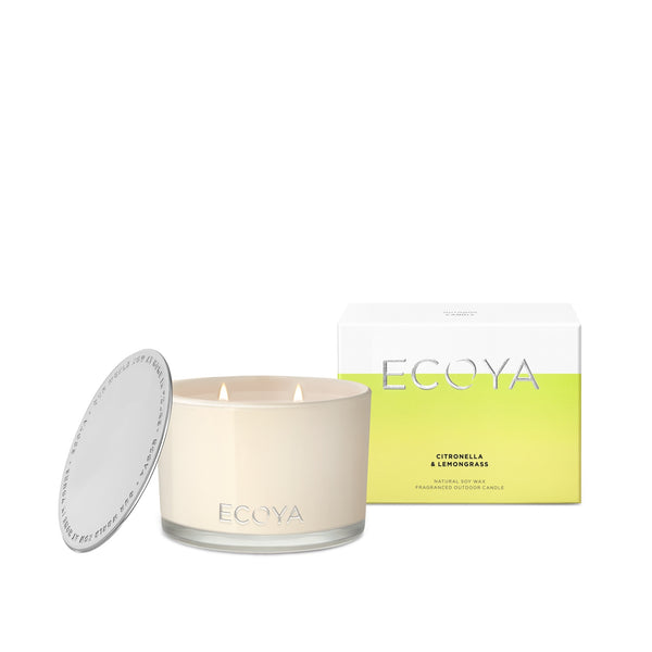 Ecoya - Citronella and Lemongrass Outdoor Candle