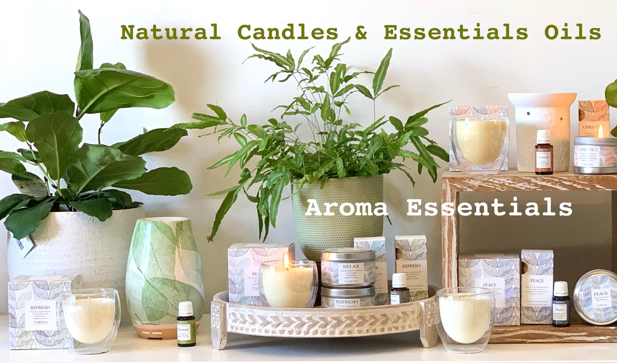 Moontree Essentials Candles and Melts