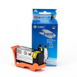 Dell Series 24 T109N 330-5287 330-5887 Compatible Black Ink Cartridge High Yield - G&G™