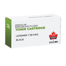 Lexmark 71B1HK0 Remanufactured Black Toner Cartridge High Yield