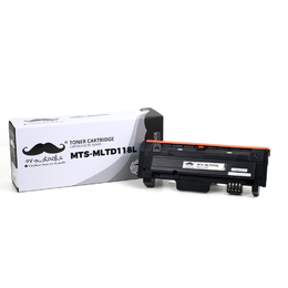 Samsung MLT-D118L Compatible Black Toner Cartridge High Yield - Moustache® - 1/Pack