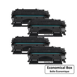 Canon 119 II 3480B001 Compatible Black Toner Cartridge - Economical Box - 4/Pack