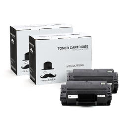 Samsung MLT-D205L Compatible Black Toner Cartridge High Yield For ML-3312ND Printer - Moustache® - 2/Pack