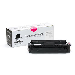 Compatible HP 410X CF413X Magenta Toner Cartridge High Yield - Moustache® - 1/Pack
