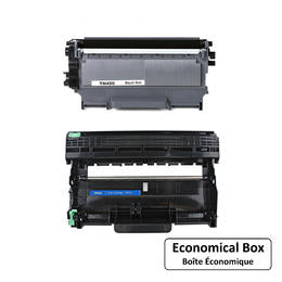Brother TN450 DR420 Compatible Toner Cartridge and Drum Combo - Economical Box
