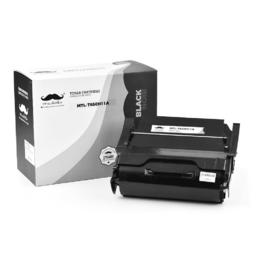 Lexmark T650H11A Remanufactured Black Toner Cartridge High Yield - Moustache®