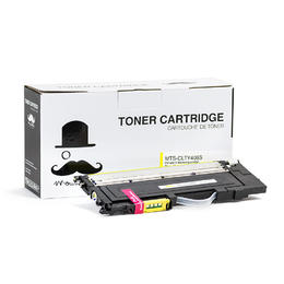 Samsung CLT-Y406S Compatible Yellow Toner Cartridge - Moustache® - 1/Pack