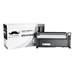 Samsung CLT-K407S Compatible Black Toner Cartridge - Moustache® - 1/Pack