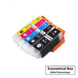 Epson T273XL Compatible Ink Cartridge Combo High Yield BK/PBK/C/M/Y - Economical Box