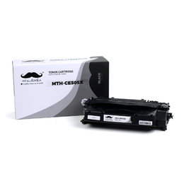 Compatible HP 05X CE505X Black Toner Cartridge High Yield - Moustache® - 1/Pack