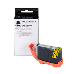 Canon CLI-8BK Compatible Black Ink Cartridge (0620B002) - Moustache®