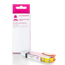 Canon CLI-271XLM Compatible Magenta Ink Cartridge High Yield (0338C001) - Moustache®
