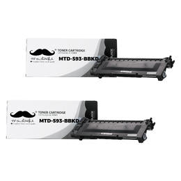 Dell P7RMX 593-BBKD F/E31X Compatible Black Toner Cartridge High Yield - 2/Pack
