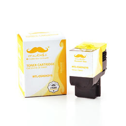 Lexmark C540H2YG Compatible Yellow Toner Cartridge High Yield - Moustache®