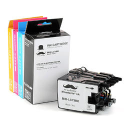 Brother LC79 Compatible Ink Cartridge Combo Extra High Yield - Moustache®