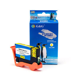 Dell Series 33 34 331-7380 T9FKK Compatible Yellow Ink Cartridge Extra High Yield - G&G™