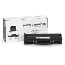 Dell 331-7335 HF442 Compatible Black Toner Cartridge for Dell B1160/B1160W Printer - Moustache® - 1/Pack