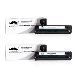 Canon 131H 6273B001AA Remanufactured Black Toner Cartridge High Yield - Moustache® - 2/Pack