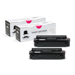 Compatible HP 410X CF413X Magenta Toner Cartridge High Yield - Moustache® - 2/Pack