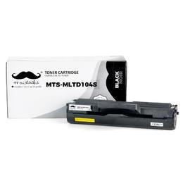 Samsung MLT-D104S Compatible Black Toner Cartridge - Moustache®  - 1/Pack